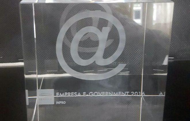 Premio eGobernment 2016