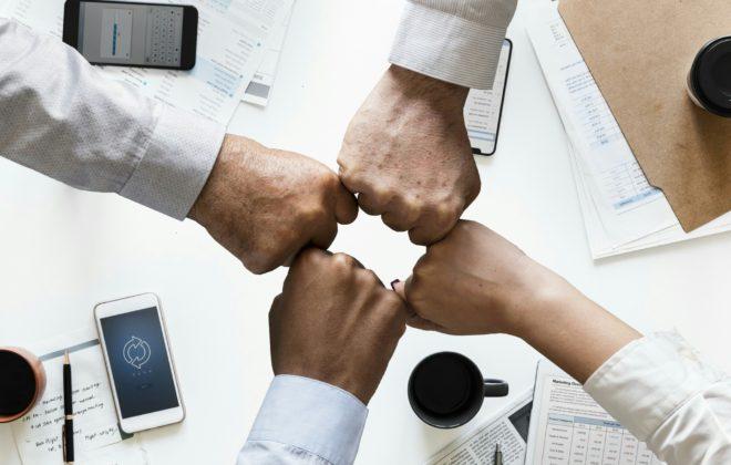 Colaboración en equipo y crecimento profesional